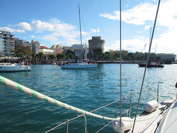 Thessaloniki is best seen from a boat…