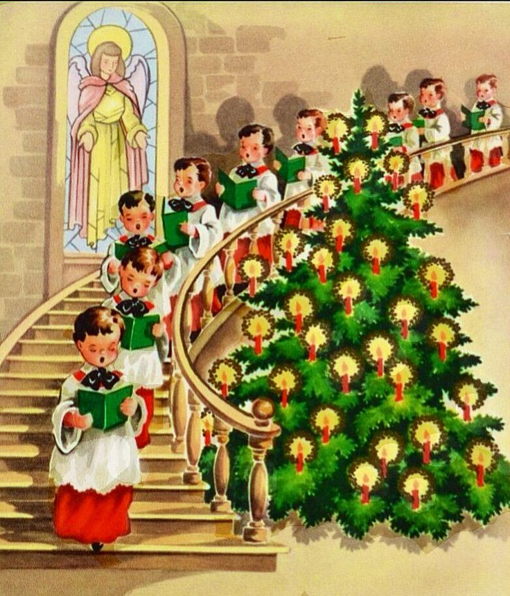 Christmas Carolers Singers Vintage Decorations By: Top 25 Ideas About Christmas Choir On Pinterest