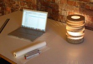 Lampe Lisa (Foto: Nordwerk recyclingDESIGN)