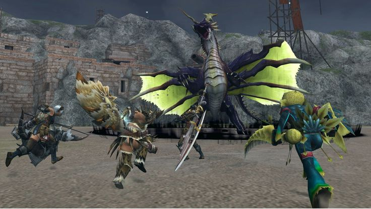 Japan) Monster Hunter Frontier G coming to PS3 and Wii U in 2013