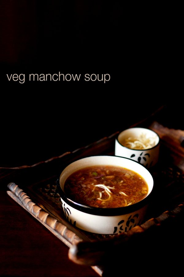 veg manchow soup recipe with step by step photos. manchow soup is a spicy and hot soup made from mixed vegetables. popular indo chinese veg manchow soup recipe.