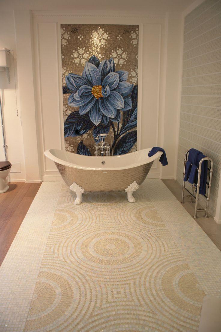 Pavimento decorato. www.stanzedautore.it