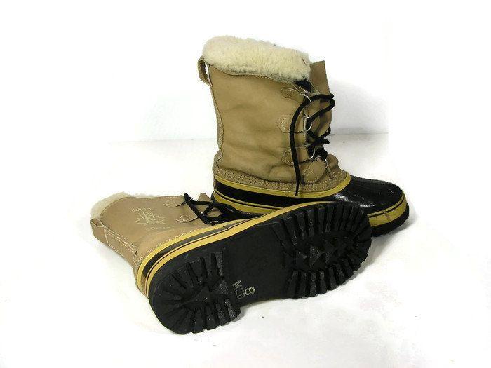 Men's Vtg Sorel Caribou Kaufman Boots Men's Vintage Sorel Boots Made in Canada Men's Vintage Snow Boots Men's Vintage Boots Vtg Winter Boots by BonniesVintageBuys on Etsy