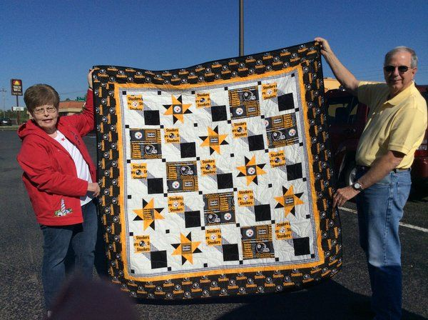 steelers quilt designs | You can also check Facebook to see what has been loaded in that forum.