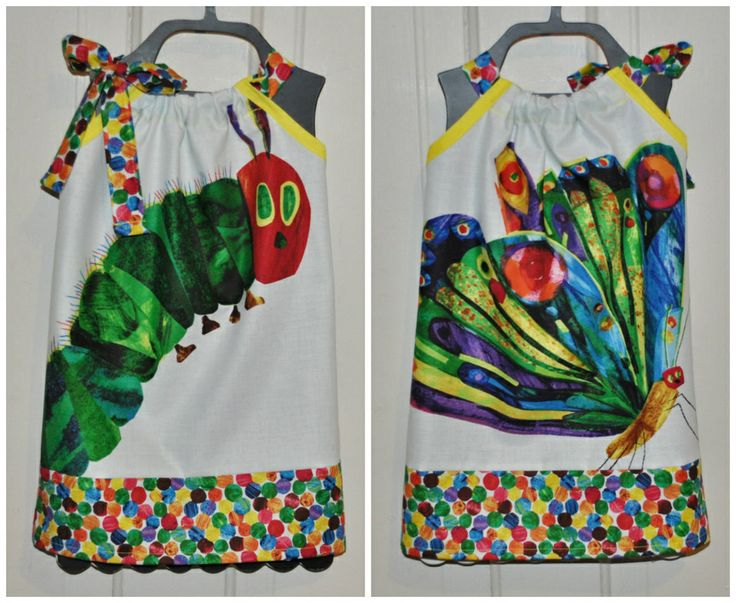 Eric Carle The Very Hungry Caterpillar Dress by Fit For A Princess.