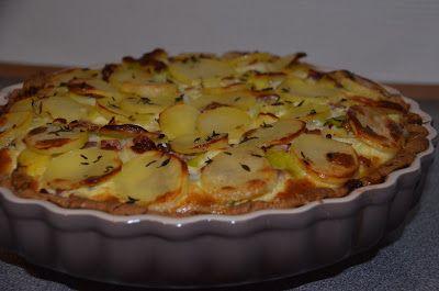Kartoffel porretærte