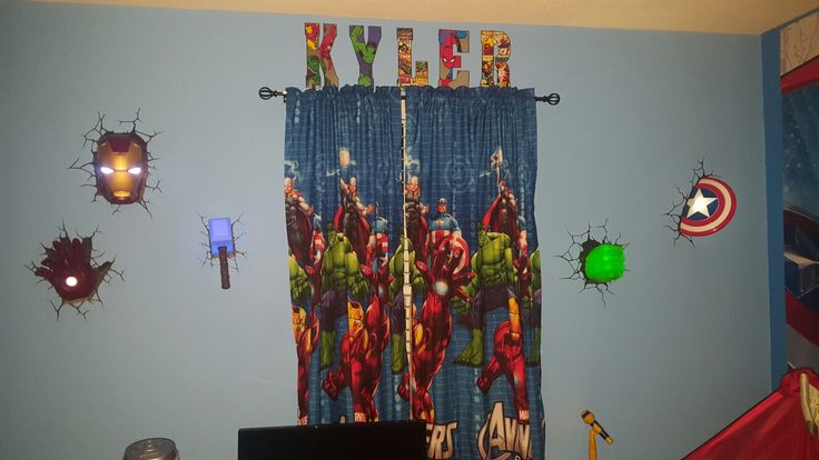 1000+ Ideas About Avengers Bedroom On Pinterest