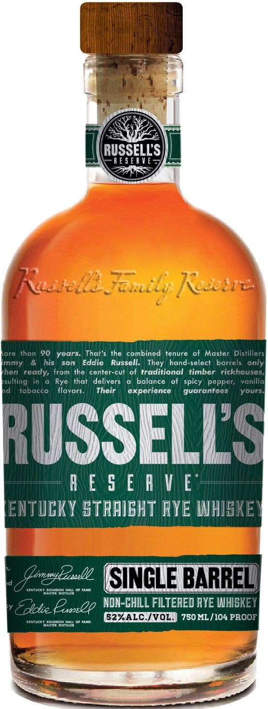 Looks like Russell's Reserve has a new expression -- and some new packaging!