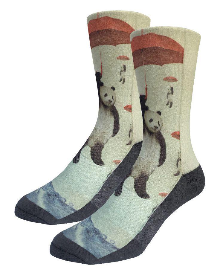 Panda Storm | Good Luck Sock | goodlucksock.com #socks