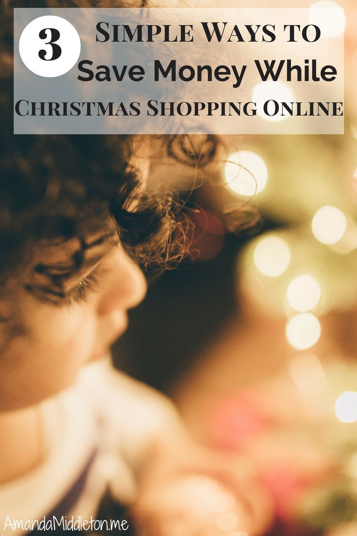 3 Simple Ways to Save Money While Christmas Shopping Online! #Frugal