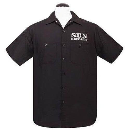 Sun Records rockabilly lifestyle workshirt
