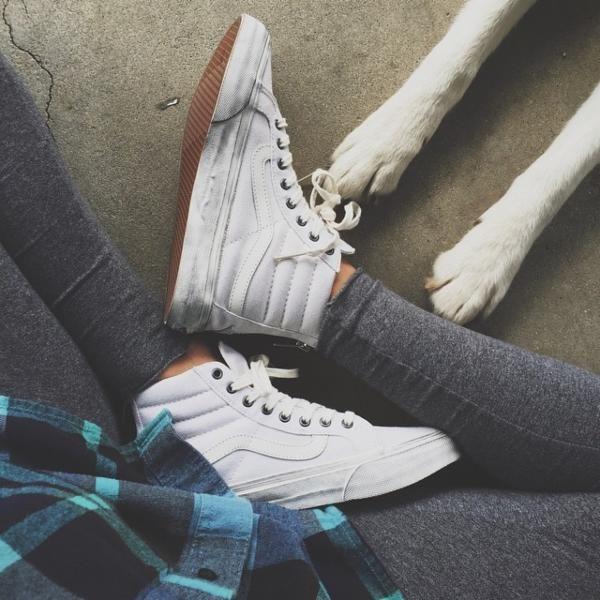 Vans Sk8-Hi Tonal Slim Sneaker - Urban Outfitters