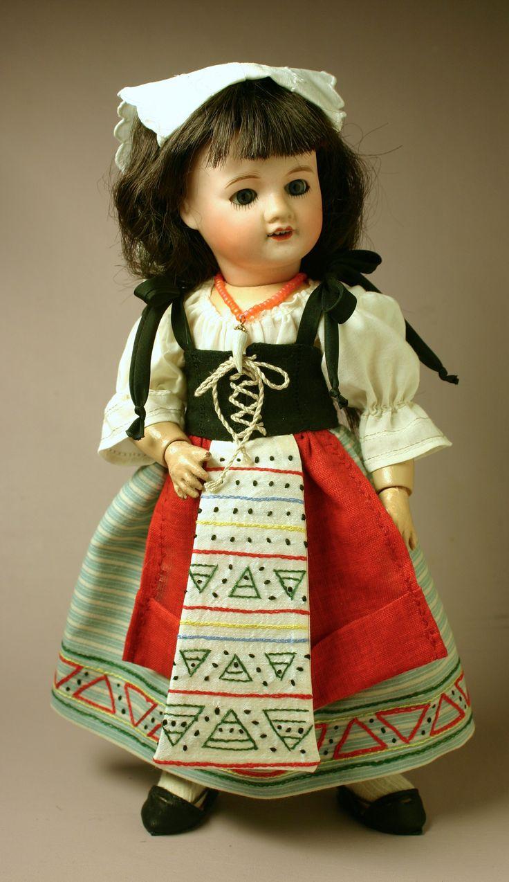 Costume Travesti: Napolitaine 1910