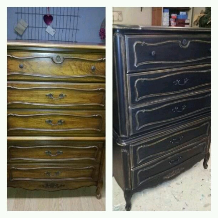 Best Furniture Make Over Images On Pinterest Painted