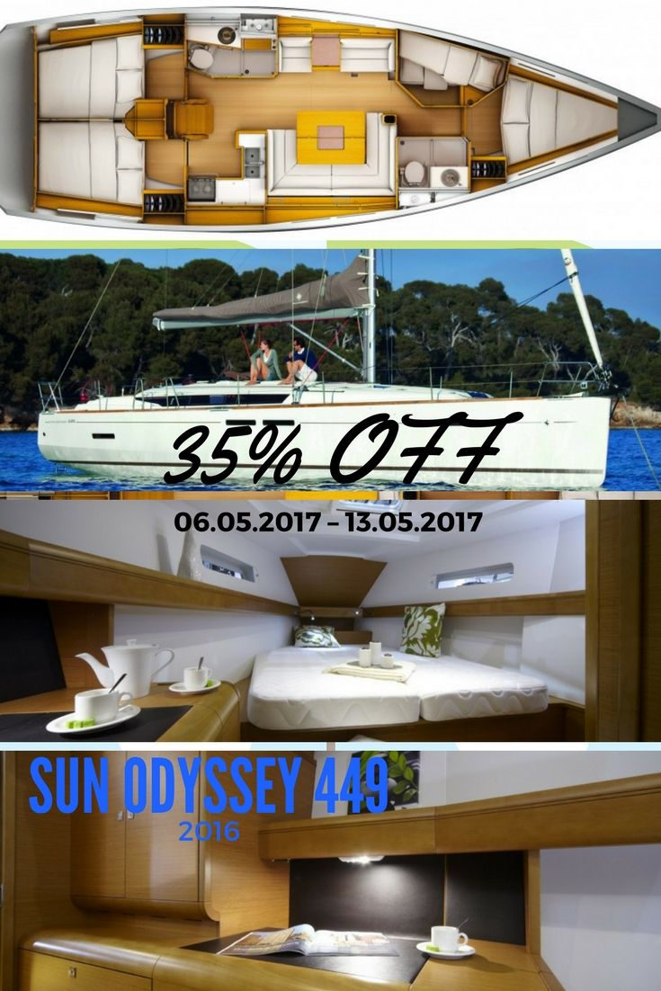 35% Off – From 2.700,00 €  by 1.755,00 € #charter #greece #skianthos #sunodyssey #bareboat