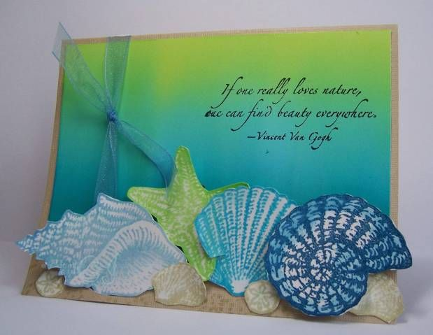 Brayered Beach by CharmWarm - Cards and Paper Crafts at Splitcoaststampers