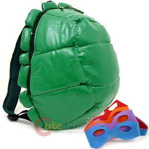Teenage Mutant Ninja Turtles Turtle Shell Backpack with 4 Masks Custume Bag | eBay