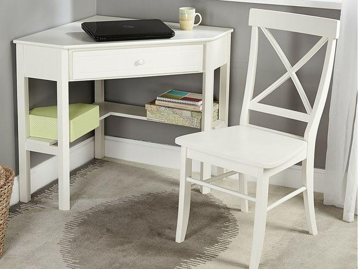 TMS 2Pc Corner Desk and Chair (3-Colors) | Corner desk, Desk, Home office decor