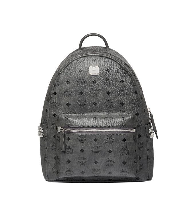 Stark Side Studs Backpack In Visetos In Phantom Grey (With