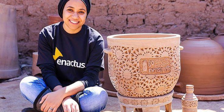 Une jeune Marocaine invente un réfrigérateur…sans électricité !