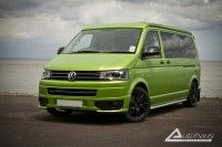 Autohaus VW T5GP LWB Campervan Conversion - Viper Green. Winner of Best T5 in Show at Busfest 2013