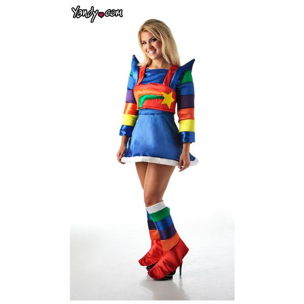 Rainbow Bright Costume, Deluxe Rainbow Bright Adult Costume, Rainbow Bright Halloween Costume and other apparel, accessories and trends. Browse and shop related...