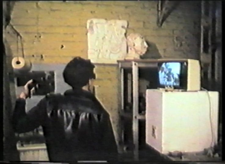 From 'Australian Super 8 Films: 1981-86'  This compilation of contemporary Australian Super 8 films was published on VHS by the Sydney Super 8 Film Group and edited by Michael Hutak.