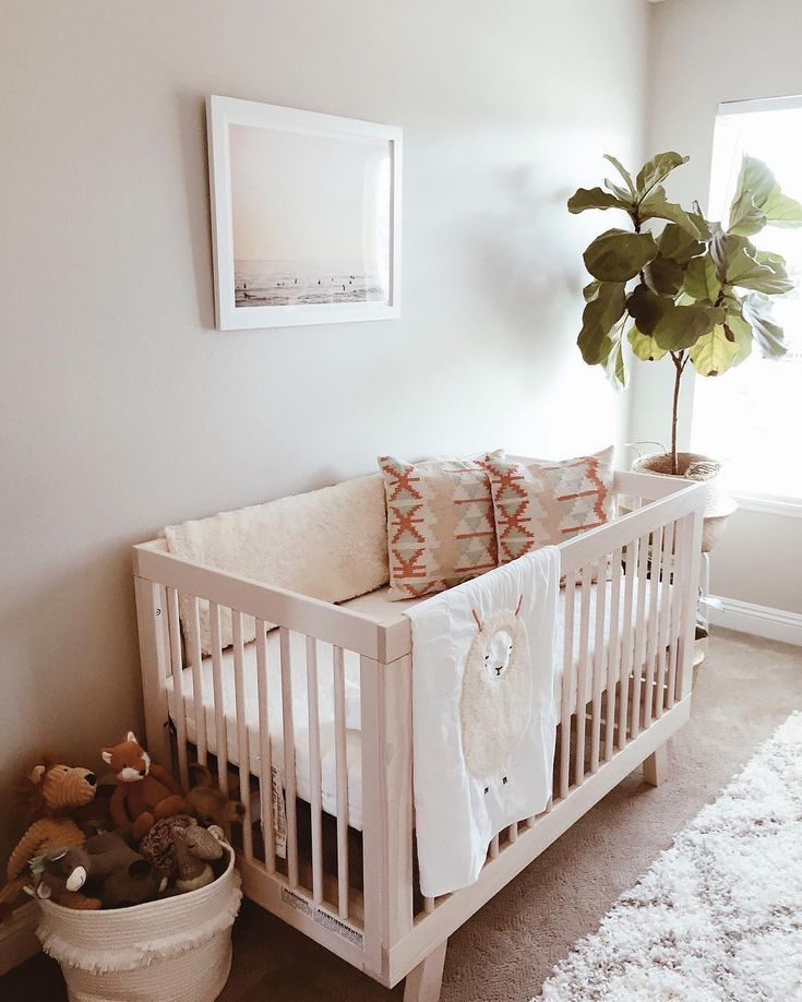 @babyletto on Instagram: a good plant never goes out of style ✌️• #babyletto Hudson crib • : designed by mama @ginamoom