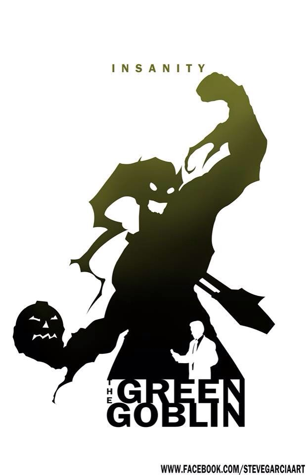 Green Goblin - Insanity By Steve Garcia