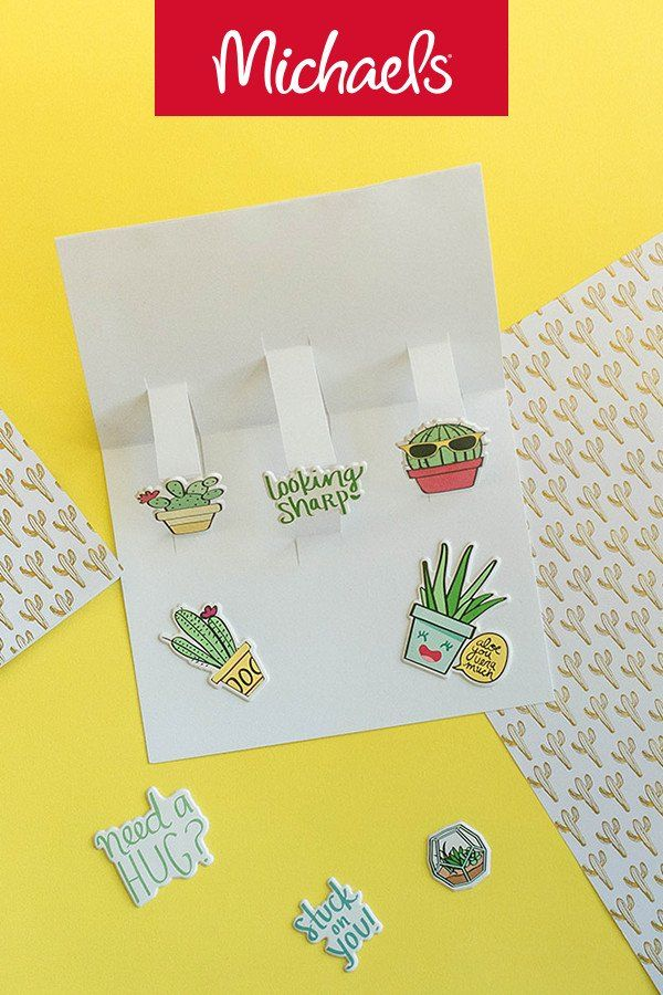 Cactus Pop Up Card Paper Crafts Pinterest Diy Paper Cacti And