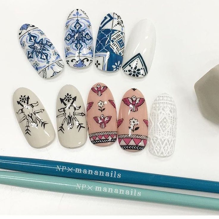 65 best nail art images on pinterest nail charms nail art amazing detailed nail art by mananails using mananail brushes back in stock at dailycharme prinsesfo Images