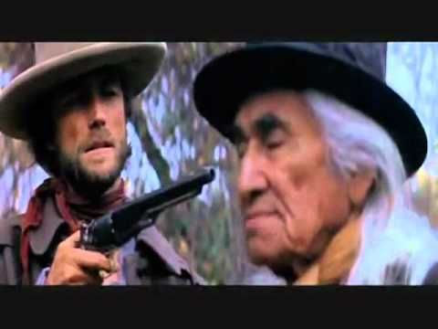 civilized man    the outlaw josey wales just had too