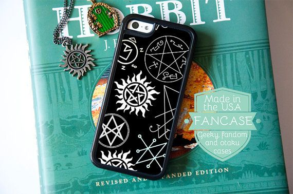 Supernatural iPhone Case Supernatural iPhone 6 Case by fancase