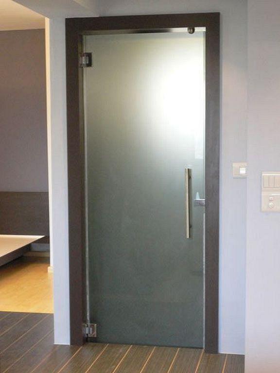 30 Modern Glass Door Designs For Your Bathroom Door Glass