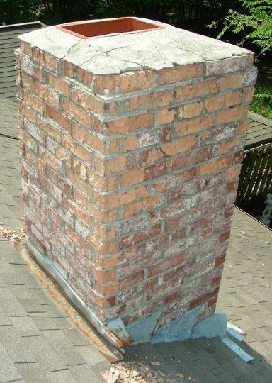 Refurbish Brick Chimney : Ideas about exposed brick fireplaces on pinterest