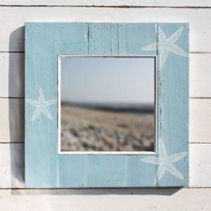 Blue Starfish Mirror MirrorBathroom BeachBathroom