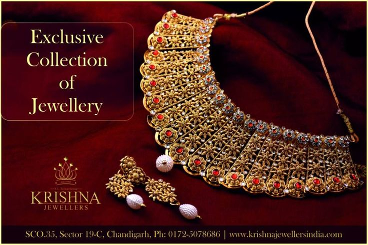 Exclusive Collection Of Jewellery!!  Get Up To 10% OFF on Making Charges!!  Visit Our Store Today to view our #Handcrafted #Unique #Designs of Jewellery (SCO 35, Sector 19 C, #Chandigarh)  #KrishnaJewellersIndia #KrishnaJewellersChandigarh #Awesome #Krishna_Jewellers_India #ChandigarhJewellers