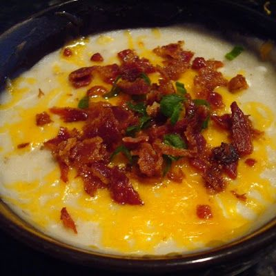 Baked Potato Soup (Crock Pot)