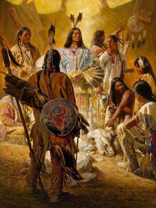 """DA SÉRIE XAMANISMO - """" O vento que deu a nosso avô seu primeiro inspirar também recebeu seu último suspiro. Se lhes vendermos nossa terra, vocês devem mantê-la intacta e sagrada, como um lugar onde até mesmo o homem branco possa ir saborear o vento açucarado pelas flores dos prados."""" (Chefe Seatle) - Da pasta: Tradições, Motologias, Ícones, Holismo."""