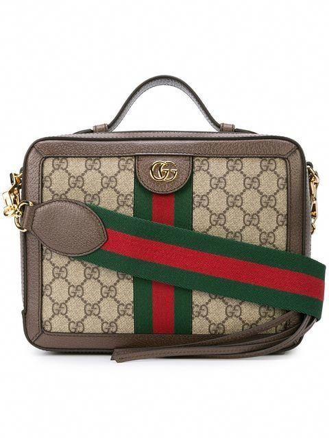 0e5851f8b3e7 Gucci Ophidia GG Shoulder Bag - Farfetch #Guccihandbags | Gucci ...