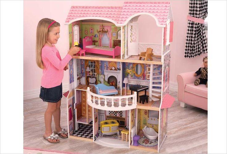 17 meilleures id es propos de maison de poup e en bois sur pinterest plan - Maison de poupee kidcraft ...