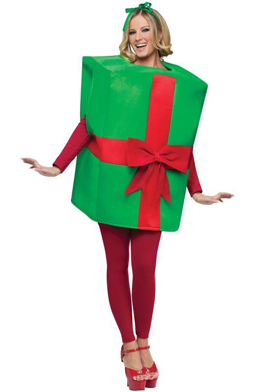 Gift Box Adult Costume | Santacon | Christmas, Christmas present costume, Christmas  gift box - Gift Box Adult Costume Santacon Christmas, Christmas Present