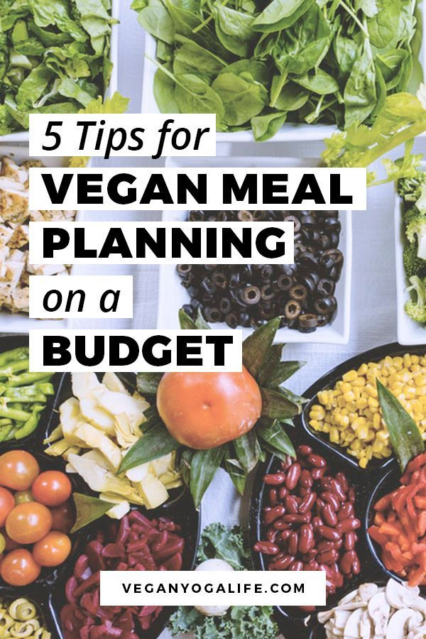 5 Tips For Vegan Meal Planning On A Budget Vegan Meal Plans Going Vegan Vegan Recipes