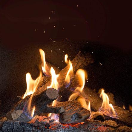 Kalfire gesloten gashaarden met Natural Spark Generator