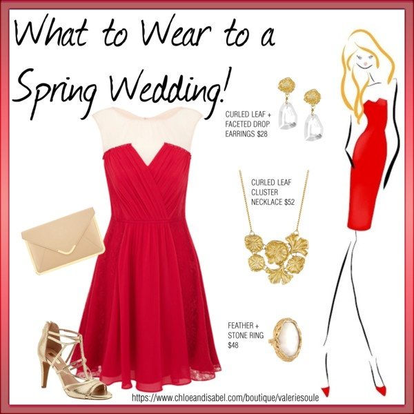 What To Wear A Spring Wedding By Soulereport On Polyvore November