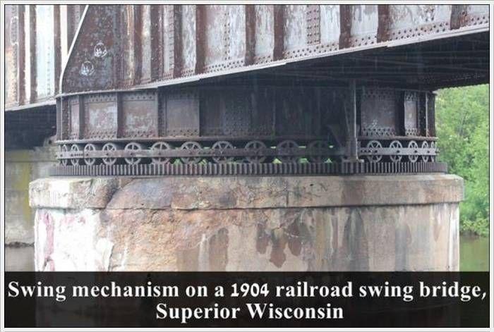 Swing Bridge mechanism 1904