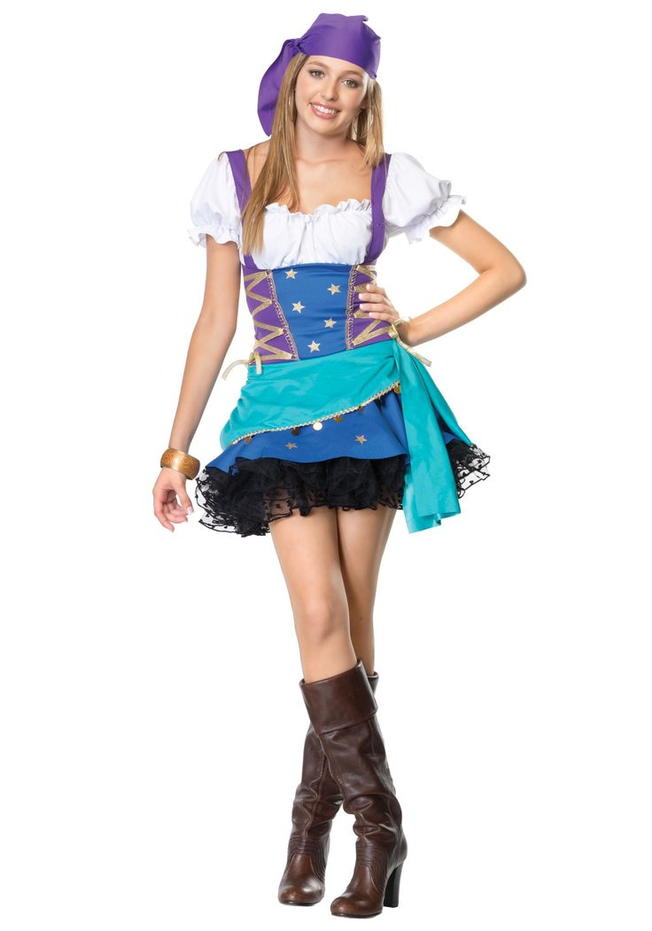 Costume For Teen Girls  Teen Girl Halloween Costume Ideas  Costumes 4 Girls  Gypsy Costume, Scary Halloween Costumes, Tween Costumes-5125