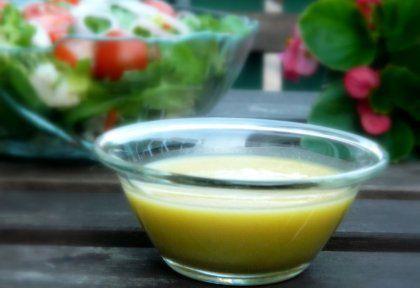 Mézes-mustáros salátaöntet | NOSALTY – receptek képekkel