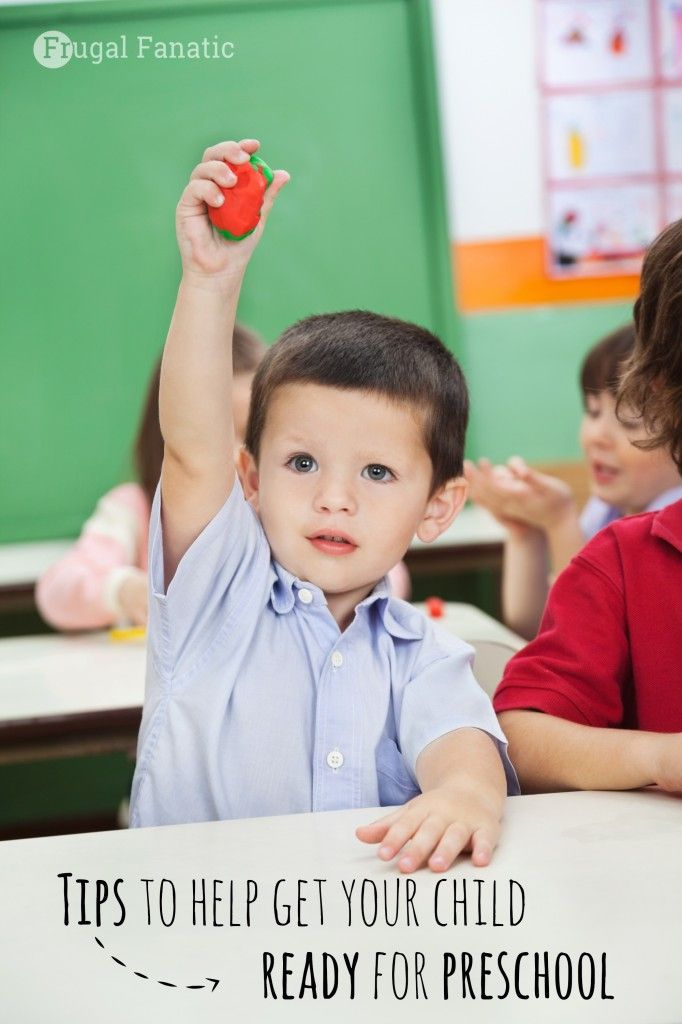 Tips to help you get your child {and you} ready for Preschool