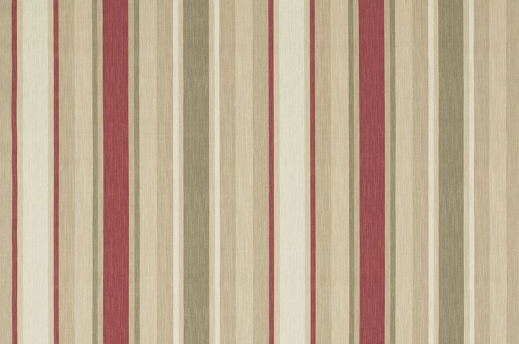 I Love The Laura Ashley Awning Stripe Raspberry Roman